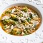 Minestra di arzilla e broccoli (Skate and Romanesco Broccoli Soup)