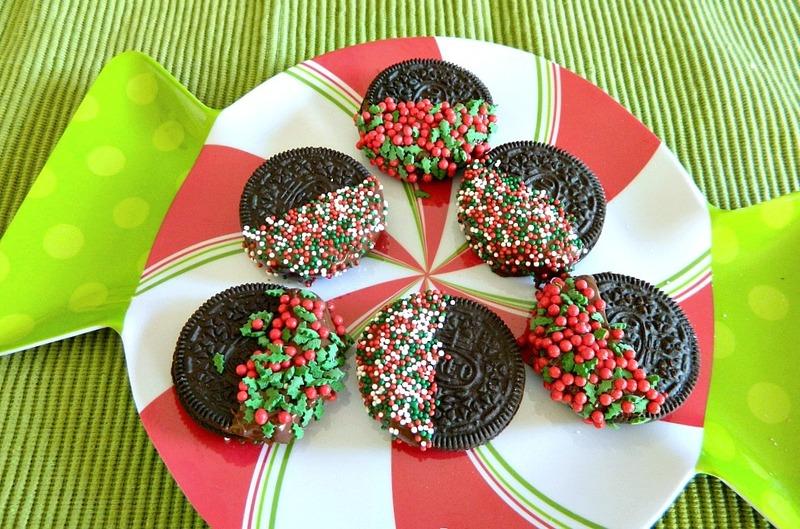 3 Ingredient Oreo Christmas Cookies