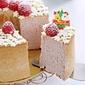 Raspberry Chiffon Cake 覆盆子戚风蛋糕