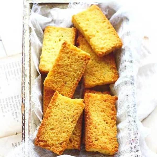 Cake Rusk Recipe (How to Make Cake Rusk)