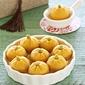Pumpkin Tang Yuan 金瓜汤圆