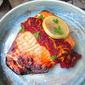 Salmon w/ Cranberry Relish