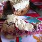 Redcurrant Meringue Cake