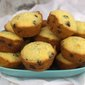 Blueberry Corn Muffins #MuffinMonday