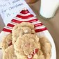 PEANUT BUTTER & PEPPERMINT COOKIES