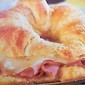 Baked Ham & Swiss Cheese Croissant Toasted Sandwiches
