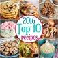 2016 Top Ten Recipes