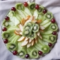 Kiwi Fruit Salad with Honey Orange Drizzle