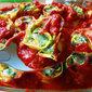 Squash and spinach pasta rotolo