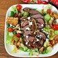 Steak Blue Cheese Salad with Onion Jam