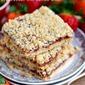 4 Ingredient Strawberry Oat Crumb Bars