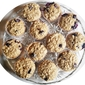 Blueberry Oatmeal Banana Cinnamon Muffins