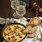 Baking | Smoky Baked Mushroom Cheese Dip with #bigbanyanwines for the holidays