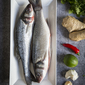Whole Baked Thai Sea Bass