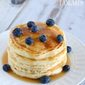 Made From Scratch Blueberry Pancakes Recipe