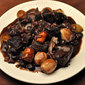 Slow Cooker Boeuf Bourguignon; cooking for one