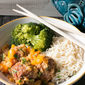 30 Minute Sweet & Sour Meatball Bowls