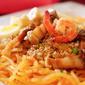 Pancit Palabok with Tinapa and Shrimp