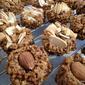 Almond Chocolate amaretti style cookies