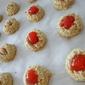 Nut Orange Coconut amaretti style cookies