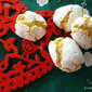 ALMOND flour LEMON cookie crackles