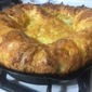 Maple Cheddar Dutch Baby, Baby!