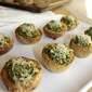 Broccoli Pesto Potato Bites #SundaySupper