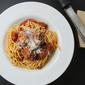 My favorite spaghetti & meatballs