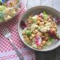 Winter Salad: Farro w/ Apples & Chickpeas