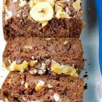 Decadent Rocky Road Chocolate Banana Bread