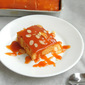Caramel Sheet Cake with Salted Caramel Sauce