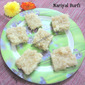 Coconut Burfi |Kobbari Burfi |Nariyak Ki Burfi | Fasting Food