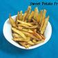 Sweet Potato Fries |Vrat ka Khana | Fasting food