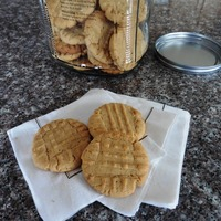 Old-Fashioned Peanut Butter Crisscross Cookies