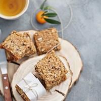 Baking   Date Walnut Orange Flapjacks … sweet comfort food