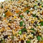 Israeli Couscous with Dried Cranberries, Apricots & Currants