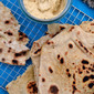 Quick and Easy Garlic Chilli Flatbreads