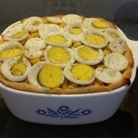 Corn Pie for Lazy Cooks