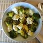 Garlic Lemon Broccoli Cauliflower Medley