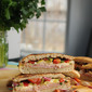 Muffaletta Style Italian Party Panini Sandwich