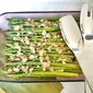 Lemony Asparagus with Almonds