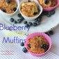 Blueberry Lemon Muffins Air Fryer Recipe