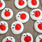 Cherry Almond Cream Cheese Treats (For Red Nose Day)