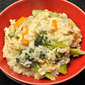 Chicken, Broccoli Risotto; an interview