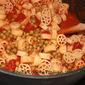 Grandma's Pasta and Peas recipe Video and book