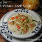 Crock Pot Irish Potato Leek Soup