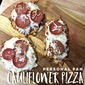 Personal Pan Cauliflower Pizza Crusts
