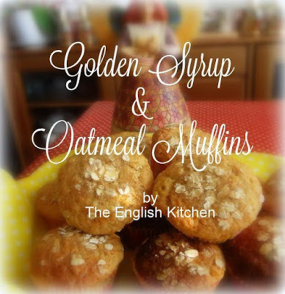Golden Syrup and Oatmeal Muffins