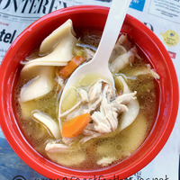 Farmhouse Chicken Noodle Soup (Pressure Cooker Style)