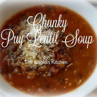 Chunky Puy Lentil & Vegetable Soup